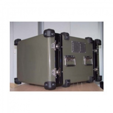 19'' chassis container double opening